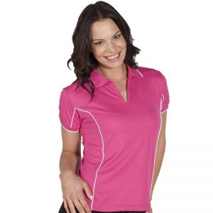Piping Polo Womens