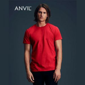 Anvil Black Tee